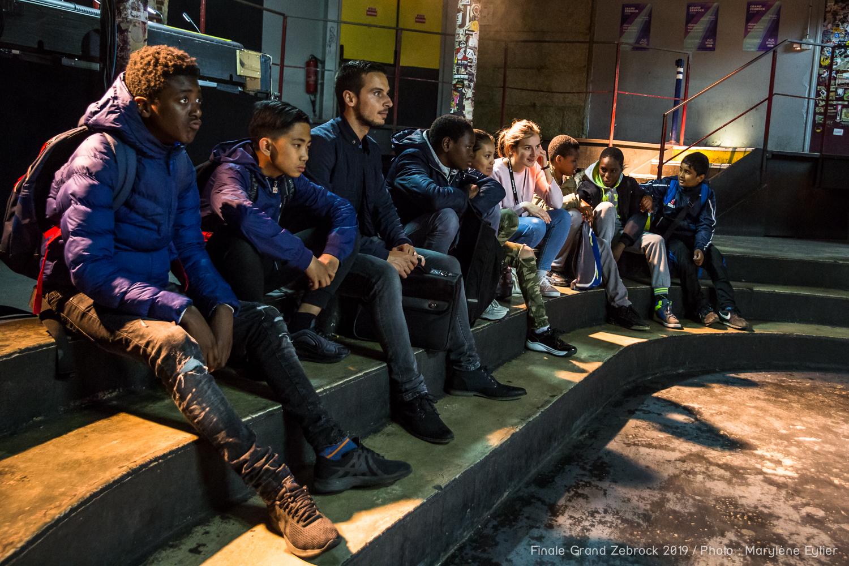 Rencontre #auBahut pendant les balances de Niki Demiller, Grand Zebrock 2019. Crédit photo : Marylène Eytier @aubondeclic