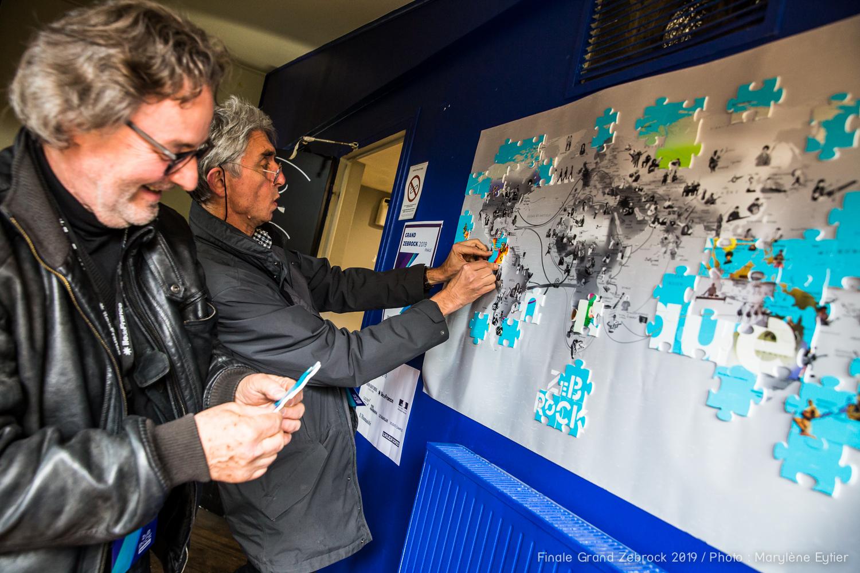 La finale du Grand Zebrock 2019 sous le signe de Mélo. Crédit photo : Marylène Eytier @aubondeclic