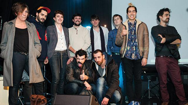 Shoefiti et tous les sélectionnés au Grand Zebrock 2015.
